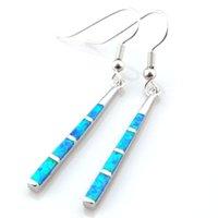 Cheap newest fashion opal earring Mexican Opal earrings OE076A