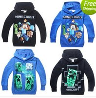 Wholesale HOT new Spring and Autumn Children s hoodies Cartoon Hooded T shirt Kids Sweater Sportswear A6036