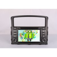 Wholesale Quad Core Android Fit MITSUBISHI PAJERO V97 para Car DVD Player GPS G radio Sreering Wheel Mirror Link Car Styling