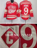 best detroit - Cheap Winter Classic Ice Hockey Jerseys Detroit Red Wings Gordie Howe Premier Jersey with C patch Best Embroidery here