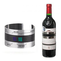 Wholesale Stainless Steel Wine Bracelet Thermometer
