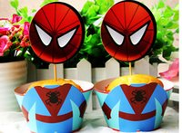 Spiderman birthday cake uk