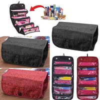 Wholesale Hot Selling Women Lady Cosmetic Makeup Case Zip Pouch Travel Toiletry Make Up Bag Organizer BX161 DHL EMS
