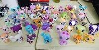 Wholesale original genuine LPS littlest pet cute animals shop kawaii ponies doll kids toys for girls children brinquedo