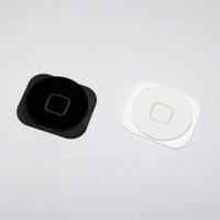 apple key caps - New Black White Home Menu Button Key Cap for iPhone G