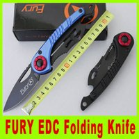 Cheap 2015 New US FURY EDC folding knife survival pocket knife outdoor gear hiking knife High quality survival knife camping hunting knife 247X