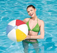 Wholesale hot sell popular children toy water sport game inflatable beach ball for water game cartoon ball bestway