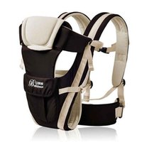 Wholesale 4pcs loy Breathable Multifunctional Front Facing Baby Carrier Infant Comfortable Sling Backpack Pouch Wrap Baby Kangaroo