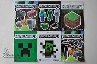 2016 nouveau mur de minecraft autocollants Collage Affiche Minecraft Caractères Chambre Classique Réglage Décoration 1200pcs d'affiches