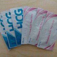 tests ovulation - By DHL High Quality HCG Pregnancy Test Strip LH Ovulation Test Strip