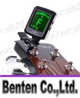 Wholesale Guitar Tuner LCD Clip on Electronic Digital Guitar Chromatic Bass Violin Ukulele Tuner LLFA1976F