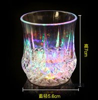 Wholesale 50pcs High Quality Christmas LED Flashing Bottle Coaster Sticker For Drinks Glasses For Night Club And Bars Beer Party Decoratio