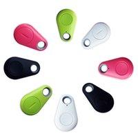 Wholesale 4 Colors Bluetooth Smart Tag Tracker Child Bag Wallet Key Finder GPS Locator Alarm