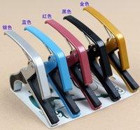 Wholesale Quick Change Clamp Capo Acoustic Electric Guitar Trigger Capo Key Clamp