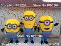 Mascot Costumes minion costume - high quality Despicable me minion mascot costume for adults Minion mascot costume