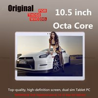 Wholesale 10 quot Tablet Octa Core MTK6592 G G Phone Call Tablet GB GB Dual SIM MP Android Bluetooth GPS Tablet PC