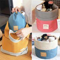 Wholesale New Arrivals Lady Cosmetic Makeup Bags Handbag Organizer Nylon Cotton Portable Travel Toiletry Size CM BX202