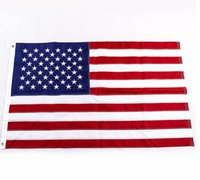 Wholesale US Flags Confederate Flags with Embroidered Stars x5 feet Fed USA Emboidery