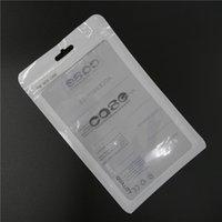 al por mayor protegerlas del polvo-Bolsillo al por menor OPP bolso polivinílico plástico a granel del bolsillo 18.5x11.5CM Tamaño grande para la cubierta de la caja del cuero del iphone de la galaxia S3 S4 de Samsung