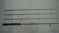 Wholesale 2 m Three tips three actions spinning fishing rod Top quality custom carbon spinning fishing rod