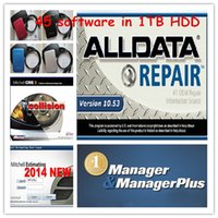 For Land  Rover auto repair program - Newest alldata and mitchell on demand software auto repair program in new hard disk fit in win xp