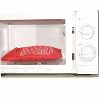 Wholesale 2015 Microwave Potato Baked Bag Potato Fast Cooking Washable Cooker with Free Gift