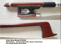 Wholesale Violin Bow withTop quality Red Horn Frog FPZ030
