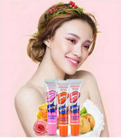 orange peel - Lip Gloss Peel off Lasts For h No Stain Marine Collagen Lipstick Balm Plant Romantic Bear Colors Makeup Moisturizing Lip Mask