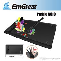 Wholesale 100 Brand New Parblo A610 Professional Graphics Drawing Tablet Grafico Tablet quot x6 quot as Ugee M708 Huion Graphic Tablet Gift
