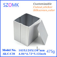 cutout, silkscreen, color, laser carve aluminium anodizing - 1 szomk anodizing extruded aluminium enclosures mm aluminum enclosure distribution box AK C C38