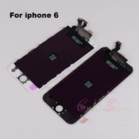 Wholesale For iphone S S High Quality LCD display with touch screen digitizer Replacement assembly in Black White inch