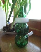 En 2015 Tuyau en verre Tubes à main Rigs Tuyaux d'eau HookahRigs Tuyaux d'eau Hookah Sm Smoking Limited Biberon Rig vapeur HITMAN GLASS