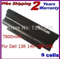 Wholesale 9cells mAh Laptop Battery For DELL Inspiron R R R R M411R M501 M5010 N3010 N3110 N4010 N4110 N5010 N5030 N7010