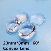 Wholesale semi circle Plano convex LED Lenses mm Optic Lens Grade PMMA For Lens Reflector