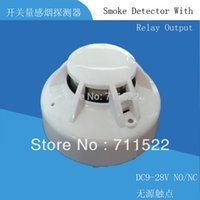 Wholesale 4 wire Conventional Smoke Detector with Relay output v v smoke alarm