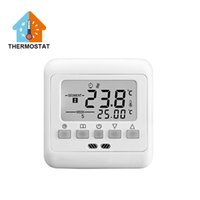 Wholesale BYC03 H3 A White V LCD Display Electric Room Floor Heating Thermostats Termostato Temperature Controller