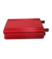 inverter battery - 1200W Red Aluminum And Magnesium Alloys DC12V To AC V Power Inverter Overheating Battery Protection Inverter