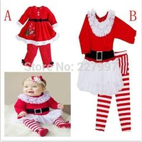 Cheap 2014 Christmas clothes baby girls minnie mouse dress + pants sets cartoon kids long sleeve dress set cute girls outfits suitspk1