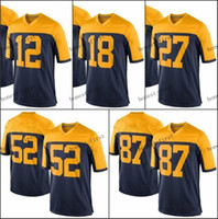 throwback football jersey - Men Women Blue Throwback Green White Elite Jerseys Customized Various Colors Discount Cheap Football Jerseys Sportswear