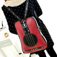 Wholesale 2014 pu backpack casual student bag school backpacks women s shoulder bag European and American violin shoulders HL4133