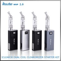 Wholesale Innokin Electronic Cigarette iTaste MVP2 Starter Kit With iClear30 Dual Coil Clearomizer Variable Voltage Wattage Personal Vaporizer