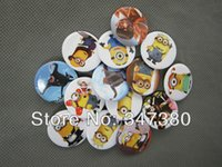Wholesale 9600pcs cm High Quality Cartoon Despicable Me Caoon Badges For Birthday Party Gifts Hot Sale