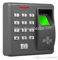 Wholesale Biometric Fingerprint Access Control Machine Electric RFID Reader Scanner Sensor Code System For Door Lock X7 M F100 MF100 A5