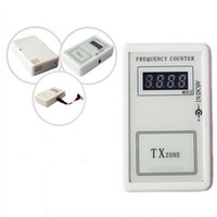 Wholesale ALKcar pc MHZ frequency counter wireless Car Remote code Frequency Counter remote key Frequency Tester Free Ship
