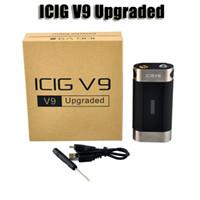 zero - 100 Original ICIG V9 Plus Upgraded W box mod with OLED screen Variable Wattage W W battery mod VS Zero V2 Smy God box mod