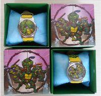 Wholesale Ninja Turtles TMNT New Crystal Watch Digital Watches Teenage Mutant Quartz Kids Child Christmas Gifts Boy Christmas gift pc