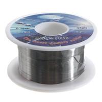 Wholesale Excellent quality mm Sn Pb tin lead solder Rosin Core Solder flux soldering welding solder Wire Spool Reel