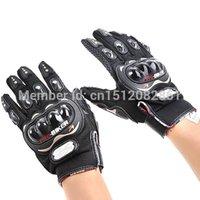Wholesale PRO BIKER Anti slip Full Finger Motorcycle Racing Warm Gloves Black