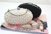 $10 handbags - Women Fashion Clutch Bags Pearls Beaded Evening Handbags Luxury Mini Bags cm Length And cm Width