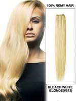 """Cheap 12""""-30"""" Bleach Blonde 613 Color Remy Hair Weft,3pcs Lot Straight Hair Extensions,Can Change Colors,Textures"""